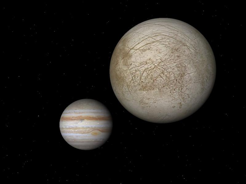 Jupiter and Europa